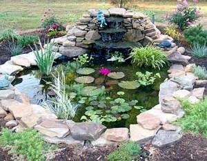 ландшафтный дизайн для водоема на дачном участке