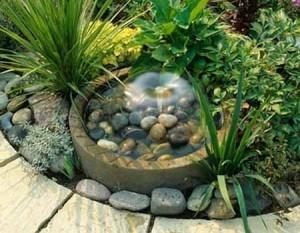 идеи для дачи красивые маленькие водоемы