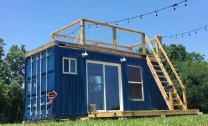 маленький домик на даче