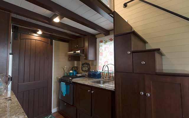 дачные домики кухня