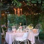 красивые сады с патио