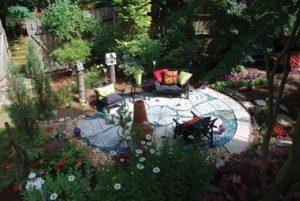 красивый дизайн сада
