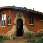 дачные дома из глины