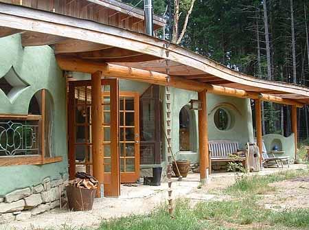 красивые экологичные дачные дома