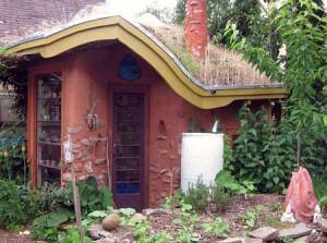 дачные дома построенные из глины