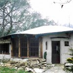 дачные дома из глины вариант дизайна