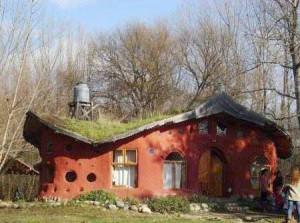 дачные дома из глины фото