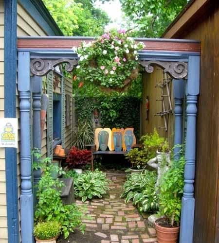 садовый дизайн делаем яркие акценты