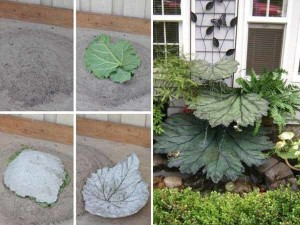 поделки для сада из подручных материалов
