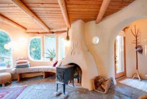 проект недорого дачного дома из самана