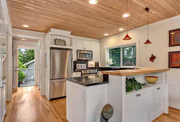 дачный интерьер кухня