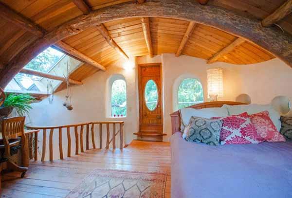 проект недорого дачного дома спальня фото
