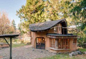 проект недорого дачного дома из глины