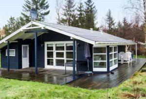 скандинавский проект дачного дома