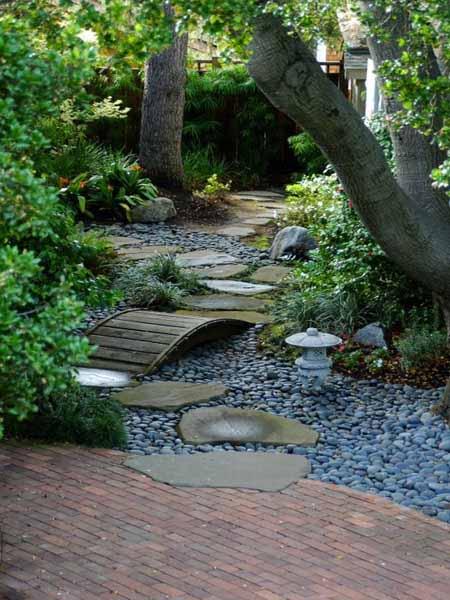 Камни в дизайне дачного участка