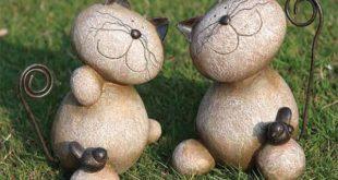 поделки для дачи из камней