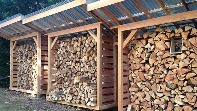 дрова на даче