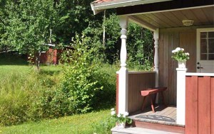 садовый домик крыльцо
