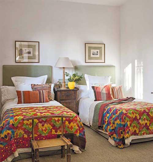 загородный дом интерьер спальни