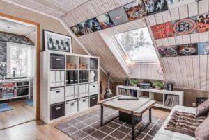 реальный дом с мансардой фото