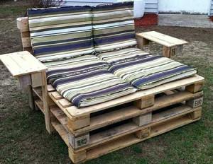 садовая мебель из подручных материалов