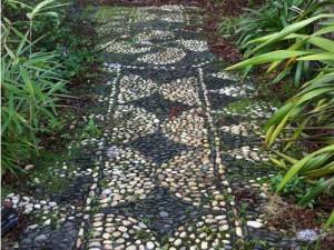 садовые дорожеки из природных матероиалов