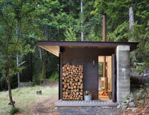 Баня на даче - печь