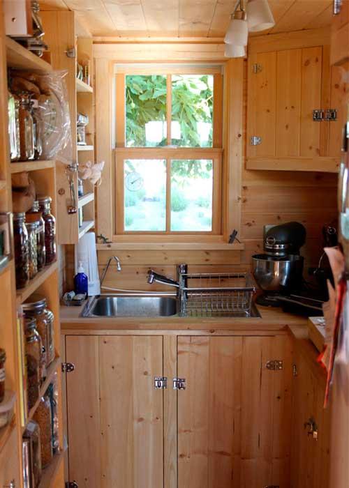 интерьер дачи кухня
