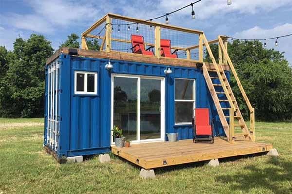 дом из контейнера проект