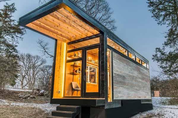 дом из морского контейнера проект
