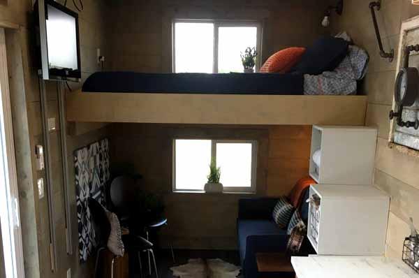 дом с мастерской из контейнеров проект