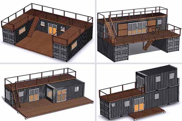 дом из контейнеров идеи
