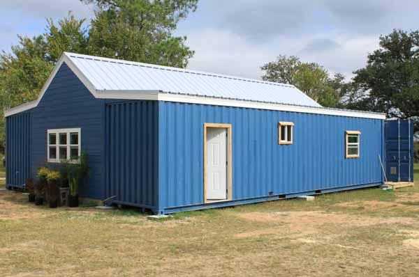 дом из контейнеров проект