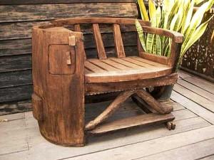 садовая мебель из дерева ручной работы