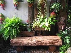 садовая мебель купить или сделать самому