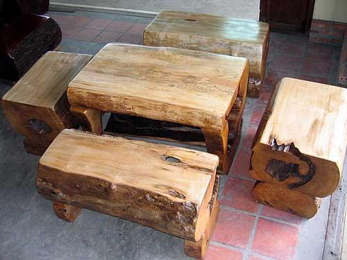 удобный и простой дизайн садовой мебели
