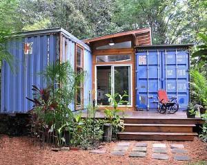 дачный дом из контейнеров дизайн проект
