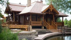 деревянная баня своими руками