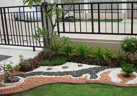 сад камней на участке