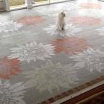 дачная веранда с бетонным полом