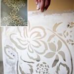 трафареты для росписи бетонного пола фото