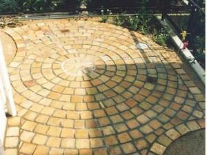 дизайн площадки на заднем дворе частного дома