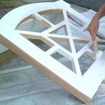 делаем деревянную декоративную решетку для кондиционера