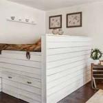 загородный дом маленькая спальня