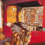 традиции в интерьере спальни для загородного дома