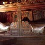 фото кровати в скандинавском загородном доме