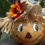 поделки осенью из тыкв