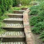деревянные дорожки в ландшафтном дизайне
