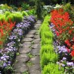 садовые дорожки из бревен