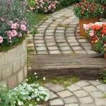 как выбрать дизайн садовой дорожки